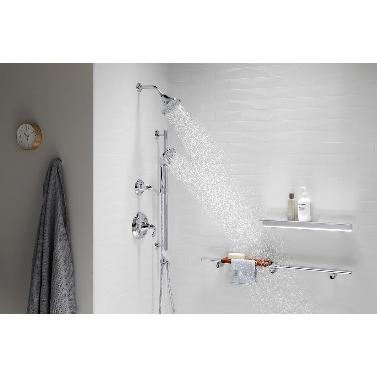 Kohler K 22169 G Forte 1 75 Gpm Multi Function Shower Head