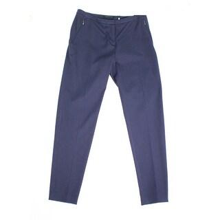 Elie Tahari NEW Blue Womens Size 2 Flat Front Stretch Dress Pants