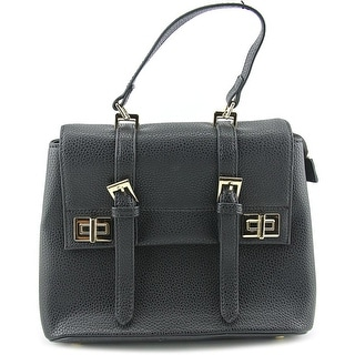 Melie Bianco Kendal Synthetic Satchel - Black