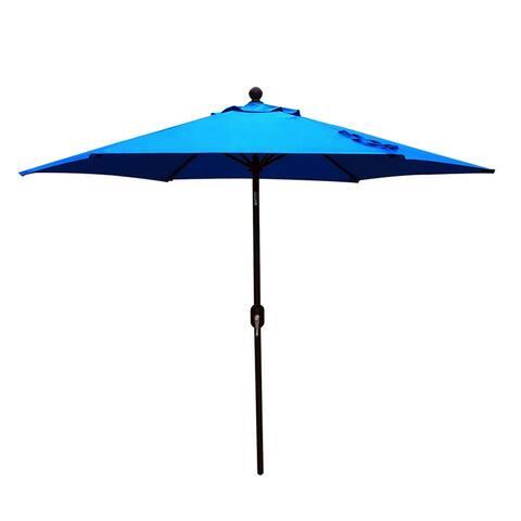 9' Outdoor Patio Umbrellabeach umbrellas Royal Blue