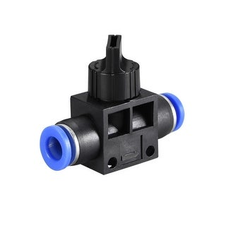 "Air Flow Control Valve Connect Fitting, 5/16"" OD  Speed Controller 5pcs - 5pcs 5/16"""