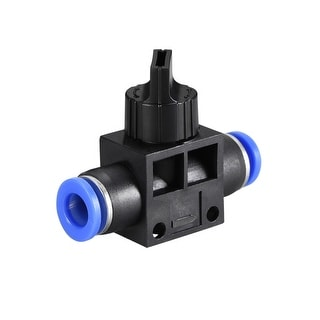 "Air Flow Control Valve Connect Fitting, 5/16"" OD  Speed Controller  6pcs - 6pcs 5/16"""