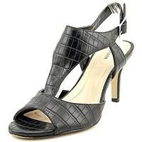 Style & Co Saharii Women Open Toe Synthetic Black Sandals