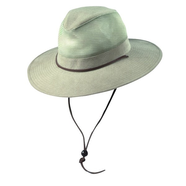 3f0f78cb658 Dorfman Pacific Men s Cotton Big and Tall Mesh Safari Hat - 3x - Free  Shipping On Orders Over  45 - Overstock - 20863782