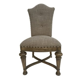 Aspen Road Dining Chair with Flax Fabric