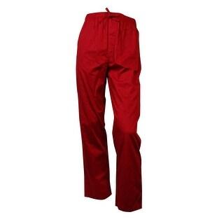 Nautica Men's Printed Logo Pajama Pants XL, Ribbon Red - ribbon red - XL