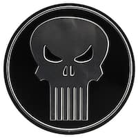 Marvel 90166898-S Punisher Round Embossed Tin Sign