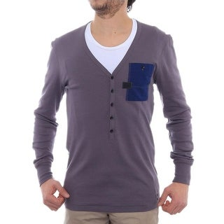 G-Star Raw Radar V Granddad Long SleeveV-Neck Henley Men Henley Shirt