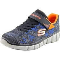 Skechers Equalizer 2.0-Point Keeper Youth  Round Toe Canvas Gray Sneakers