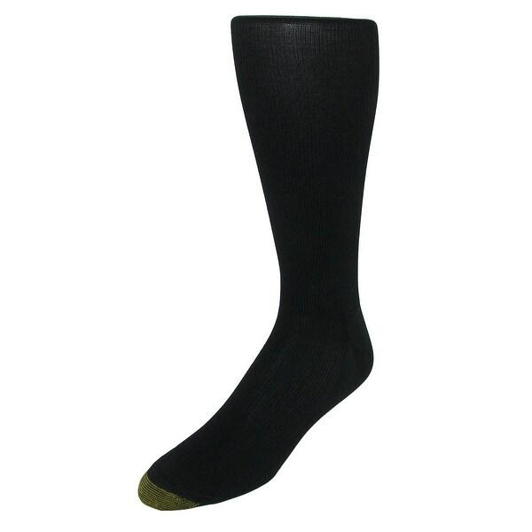 Gold Toe Men's Mid Calf Metropolitan Dress Socks (3 Pair Pack)