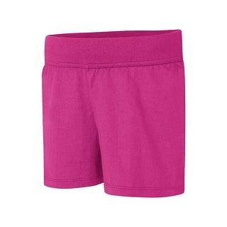 Hanes Girls' Jersey Short - M