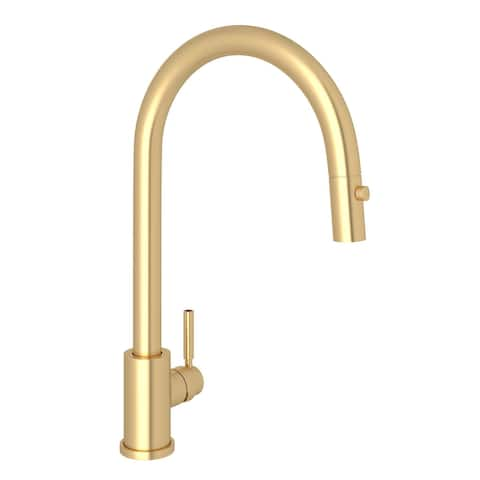 Rohl U.4044-2 Perrin & Rowe 1.8 GPM Single Hole Pull Down Kitchen