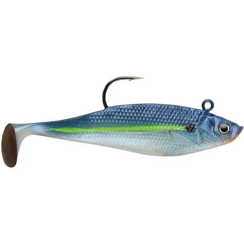 Storm Wildeye Swim Shad 3-inch Fishing Lures (3-Pack)-Blue Steel Shad - 3 in.