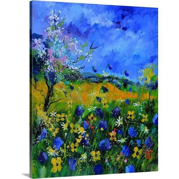 """Wild Flowers 677150"" Canvas Wall Art"