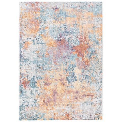 Safavieh Crystal Ippolita Modern Abstract Distressed Rug