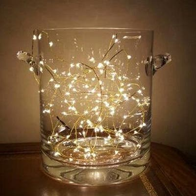 Moon Starry String Lights with 20 Micro LEDs - Medium