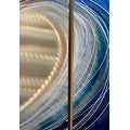 Statements2000 Blue / Silver Beach-Inspired Tropical Metal Wall Art Painting by Jon Allen - Shoot the Curl - Thumbnail 5