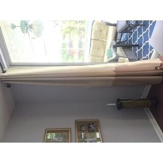 Lush Decor Prima Ivory/ Taupe Curtain Panel Pair