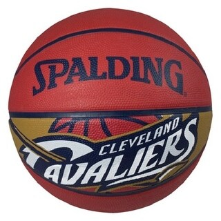 "Spalding SP-73059 NBA Cleveland Cavaliers 29.5"" Outdoor Rubber Basketball"
