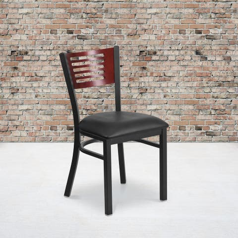 Porch & Den Tyler Metal Restaurant Chair