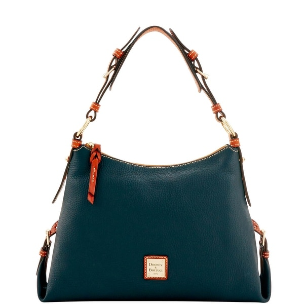 Dooney & Bourke Pebble Grain Small East West Slouch (Introduced by Dooney & Bourke at $228 in Sep 2016) - Black