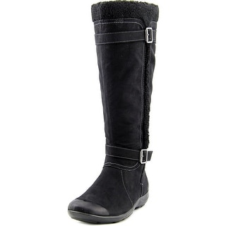 Naturalizer Frost Wide Calf Round Toe Synthetic Winter Boot
