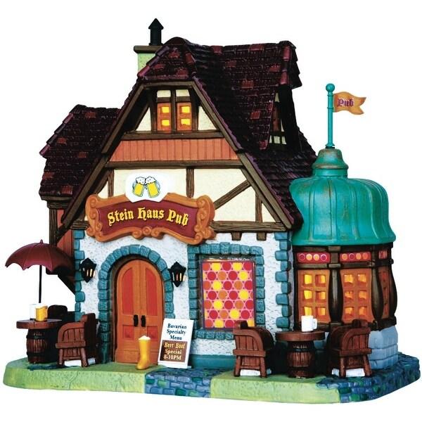 Lemax 45723 Porcelain Village Building, Stein Haus Pub