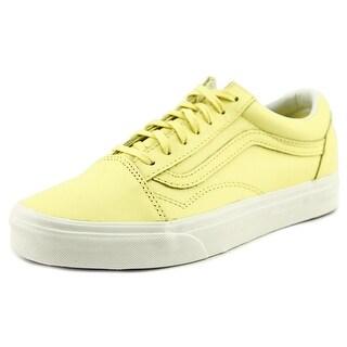 Vans Old Skool Round Toe Suede Sneakers