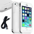 2500mAh External Battery Backup Power Bank Charger Case Cover For iPhone 5S 5 - Thumbnail 0