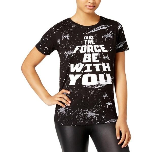 30cf0ed47 Freeze Womens Juniors Star Wars Graphic T-Shirt Printed Short Sleeves - S