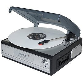Boytone BT-17TBC Turntable + Cassette Player + Headphone jack