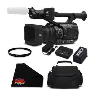 Panasonic AG-UX90 4K/HD Professional Camcorder (Intl Model)- Bundle