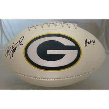 dce8214a87d Shop Paul Hornung Autographed Green Bay Packers white logo football wHOF 86  JSA - Free Shipping Today - Overstock - 17665159