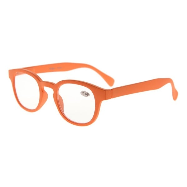 Eyekepper Stain Rainbow Reading Glasses (Orange, +3.00)