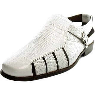 Stacy Adams Sacchi Men Round Toe Leather White Fisherman Sandal|https://ak1.ostkcdn.com/images/products/is/images/direct/ba78d880b6299cfdb7439a4bfad67264ee02142d/Stacy-Adams-Sacchi-Men-Round-Toe-Leather-White-Fisherman-Sandal.jpg?_ostk_perf_=percv&impolicy=medium