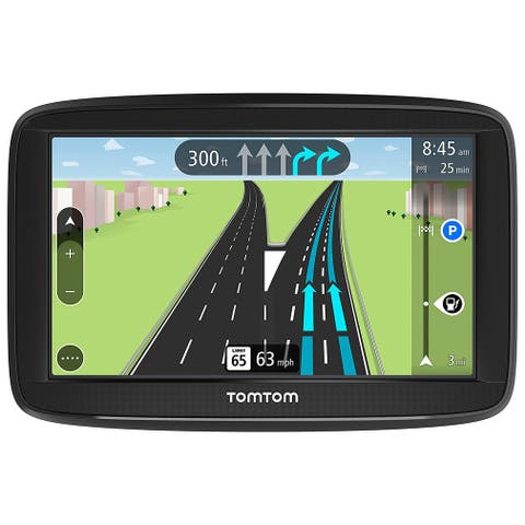 TomTom VIA 1625TM 6-inch Lifetime Maps Automotive GPS w/ Spoken Street Names