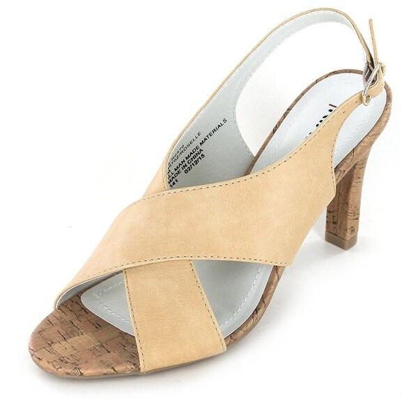 Rialto Womens Roselle Open Toe Casual Slingback Sandals