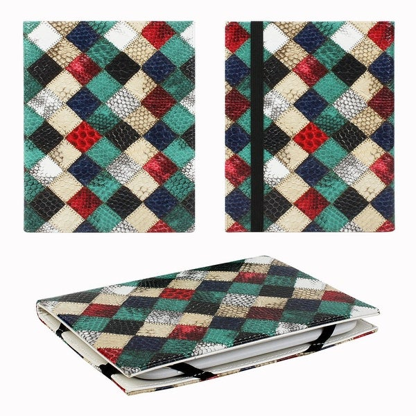 "JAVOedge Quilt Print 6"" Universal eReader Book Case for the Nook Touch, Glowlight, Kobo Glo, Touch, Kindle"