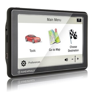 Rand McNally Road Explorer 7 Advanced Car GPS w/ Preloaded maps of US & Canada