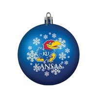 Kansas Jayhawks Ornament - Shatterproof Ball