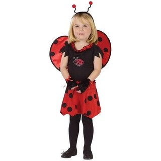 Costumes For All Occasions Fw114111Tl Sweetheart Lady Bug 3T-4T