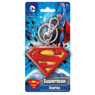 DC Comics Superman Logo Colored Key Ring - Multi