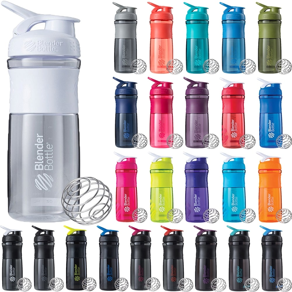 Oggi ATOMIC TritanTM Shaker Bottle 34-Ounce Purple