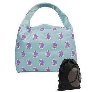 Animal Pattern Rectangle Zipper Lunch Bag