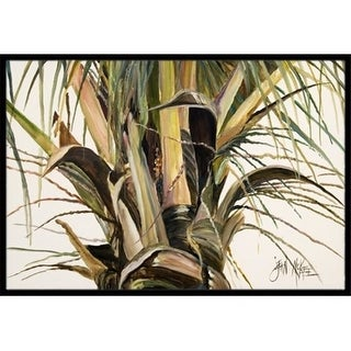 Carolines Treasures JMK1131MAT Top Coconut Tree Indoor & Outdoor Mat 18 x 27 in.