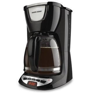 Black & Decker DCM100B 12-Cup Programmable Coffee Maker