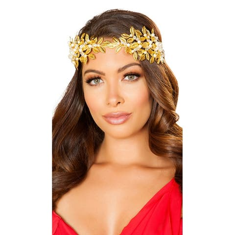 Goddess of Love Headband - Gold - One Size Fits Most