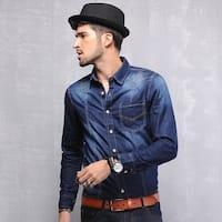 Men's fashion denim shirt
