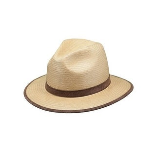 Outback Trading Hat Mens Grand Canyon Paper Straw UPF Gold 15125