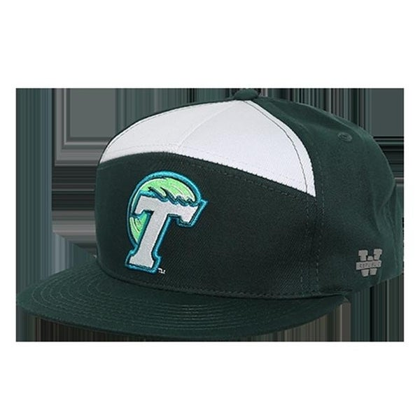 Shop W Republic Apparel 1026-198-FOR Tulane 7 Panel College Cap - ForeState  - Free Shipping On Orders Over  45 - Overstock.com - 23926419 23614212d17